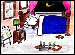Crayon Diary Story 1 O