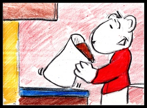 Crayon Diary Story 1 R